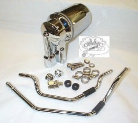 0001 - Chrome ST Oil Filter Housing 92-99