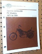 0013 - OEM Harley Davidson Parts Manual