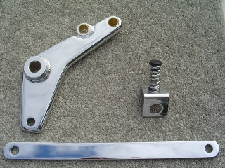 0024 - Chrome Banana Caliper Mounting Kit