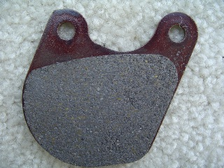0034 - Dual Disc Pad Set For Small Kidney Shaped Calipers