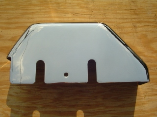 0048 - Chrome Rear Master Cylinder Cover