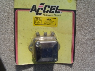 0064 - 6 Volt Chrome Plated Delco Remy Style Regulator