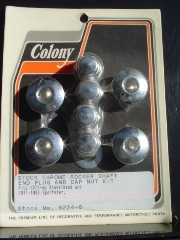 0109 - Allen Head Rocker Shaft End Cap and Nut Kit