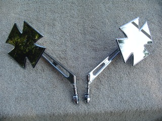 0201 - Maltese Cross Mirror Set