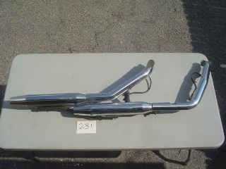 0231 - Exhaust System Twin Cam FXD