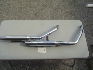 0232 - Exhaust System Twin Cam FXD