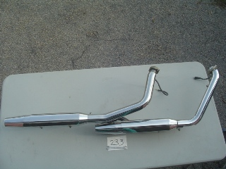 0233 - Exhaust System Twin Cam FXS
