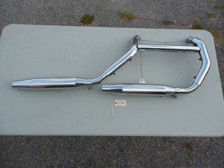 0256 - Evolution Sportster Exhaust System