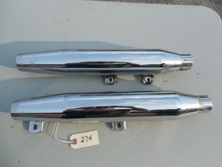 0274 - Evolution Softail® Muffler Set