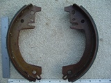 0028 - Rear Brake Shoe Set Hydraulic 1963-1972