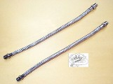 0092 - Ironhead Sportster Braided Rocker Box Oil Lines
