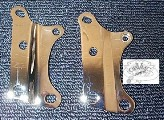 0095 - XL Chrome Front Motor Mounts