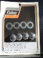 0111 - Chrome Rocker Shaft End Nut Kit
