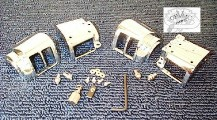 0175 - Chrome Switch Housings 1982 - 1995